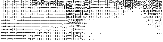 ASCII BOTTOM
